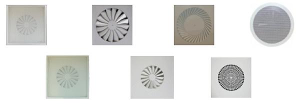 difusores rotacionales de lama fija collage