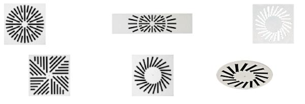 difusores rotacionales de lama movil collage